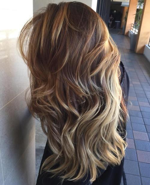 Balyajlı ve katmanlı kadın saçı modeli nasıldır