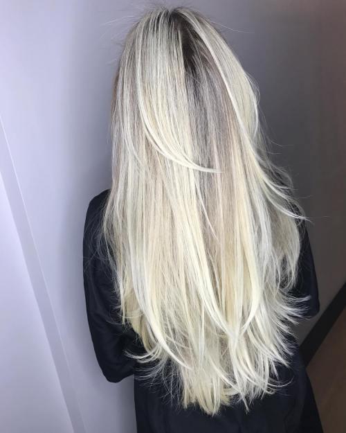 Düzensiz katmanlı kesim saç modeli nasıldır