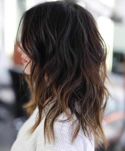 Ombreli doğal katmanlı kadın saçı modeli nasıldır