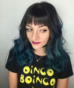 mavi ombre
