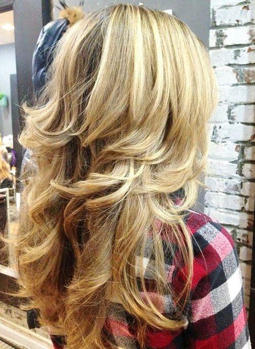 Uzun katmanlı saç modeli nasıldır