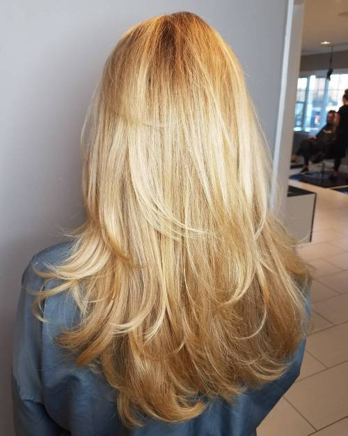 Uzun tüy katmanlı saç modeli nasıldır