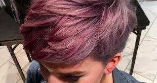 Dalgalı Bordo Saç Modeli
