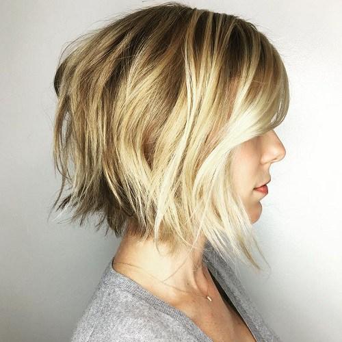 Dalgallı Sarı Saç Modeli