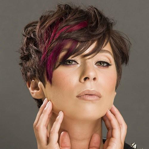 Kısa Dalgalı Saç Modelleri Örneği