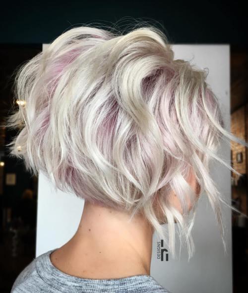 Uzun Katmanlı Dalgalı Saç Modelleri