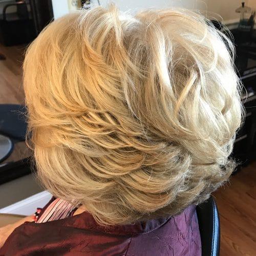 Katmanlı Kabarık Saç