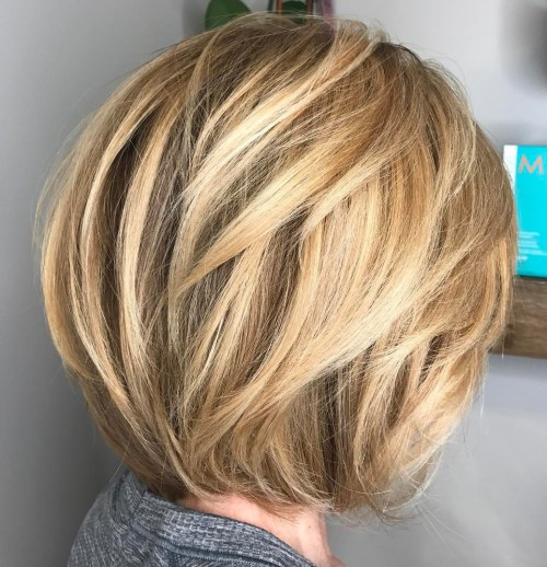 Katmanlı Saç Kesim Örneği