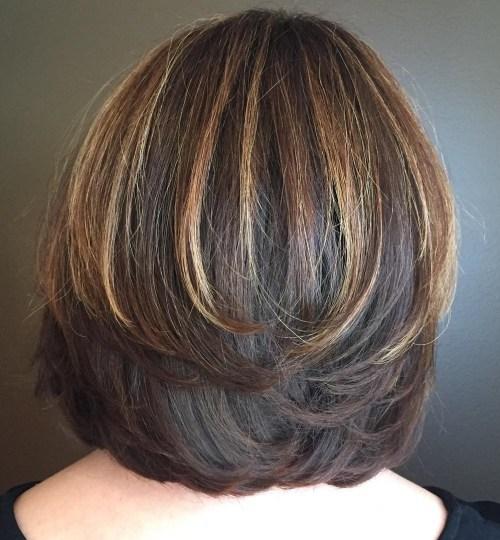 Simetrik Katmanlı Saç Modeli