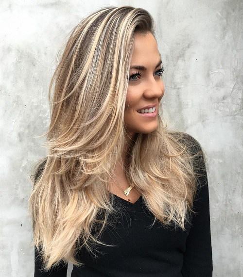 Uzun Katlı Saç Modeli