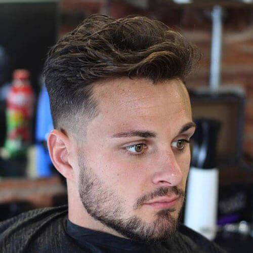 Dalgalı Erkek Saç Modeli