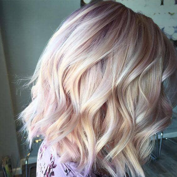 Uzun Sarı Saç Modeli Örneği