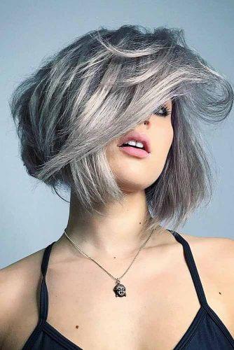 Kısa Gri Saç Modelleri Nasıldır