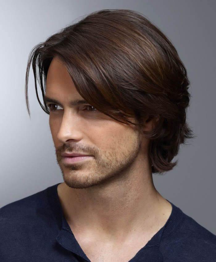 Hafif Uzun Erkek Saç Modelleri
