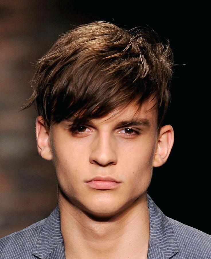 Saçak Erkek Saç Modeli