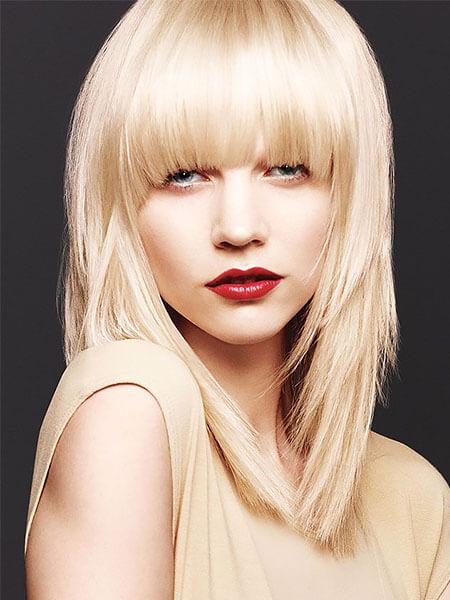 Kahkül Kesim Katmanlı Saç Modeli