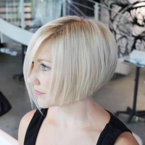 Sarı Bob Saç Modelleri