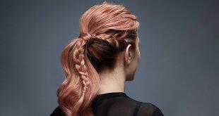 Yan Fransız Örgü Saç Modeli
