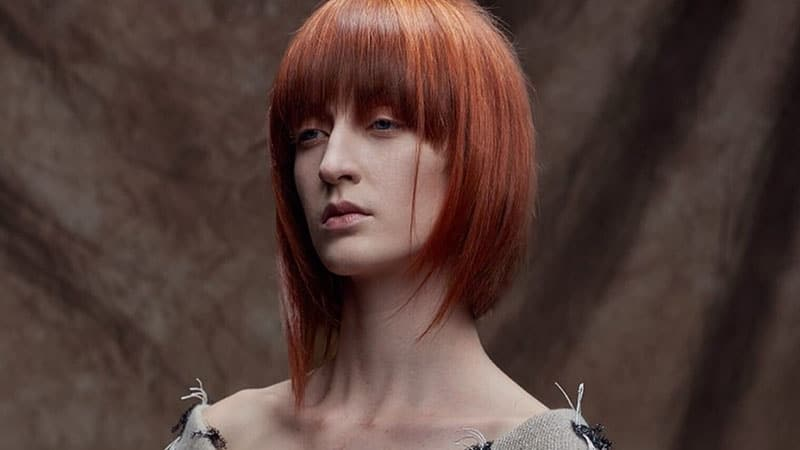 Değişik Uzunlukta Bob Saç Modeli