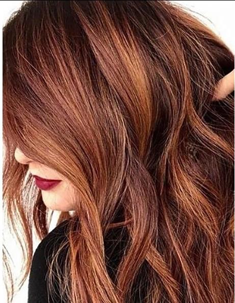 Kestane Kızıl Saç Modelleri