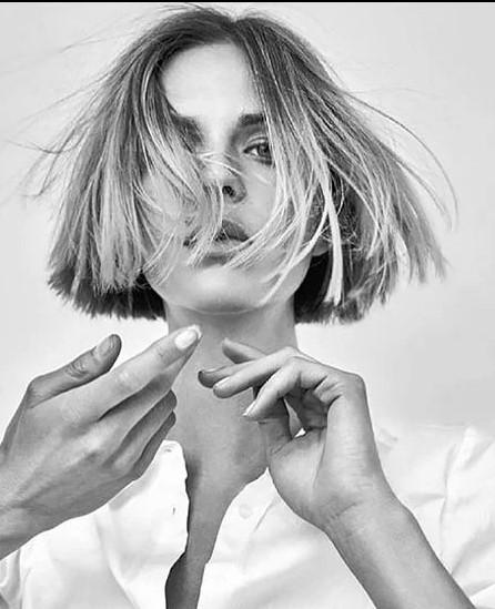 Kısa Dalgalı ve Katlı Saç Modeli Örneği