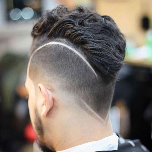 Kışkırtıcı Fade Saç Modelleri