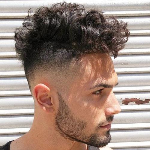 Kıvırcık Fade Saç ModeliNedir