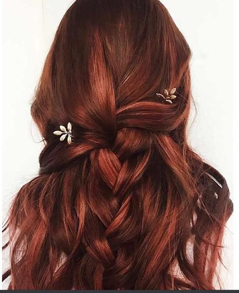 Kızıl Saçlara Kumral Işıklar