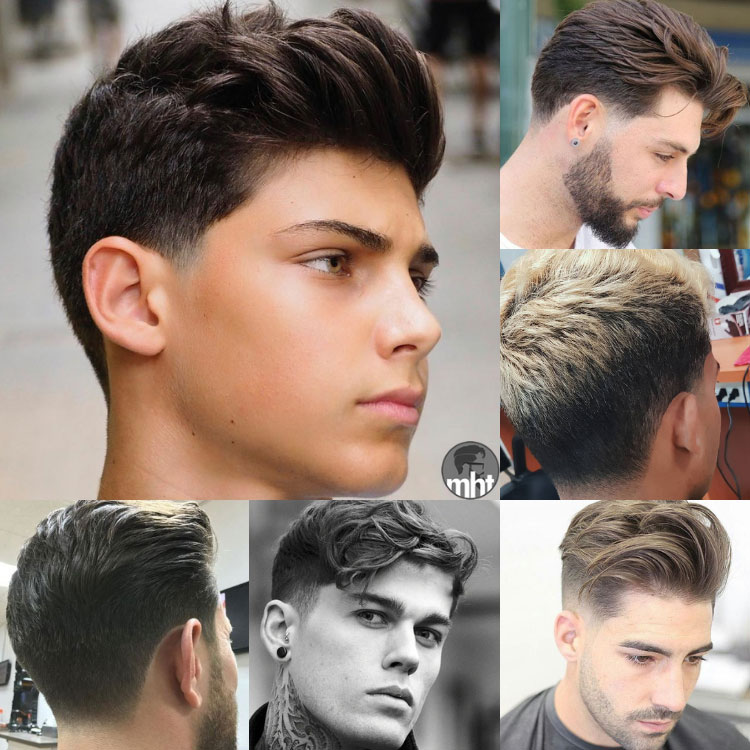 Zamansız Ve Şık Fade Saç Modelleri