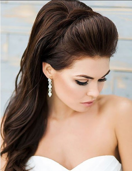 At Kuyruklu Gelin Saçı Modelleri
