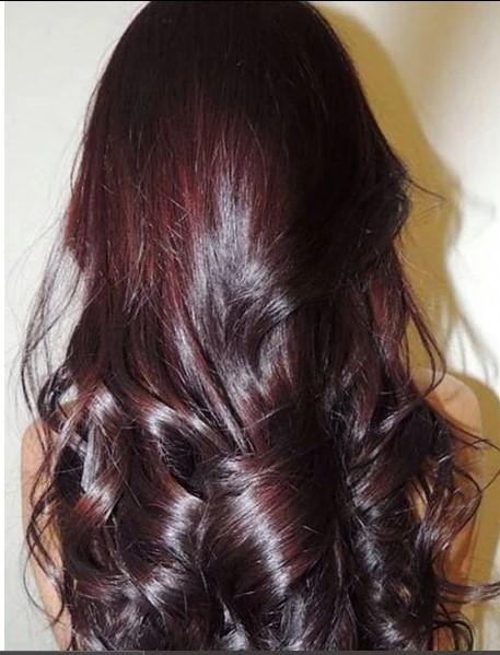 Kara Kiraz Saç Modeli
