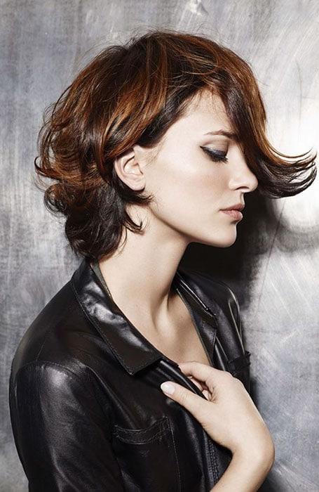 Asansör Kıvırcık Saç Modelleri