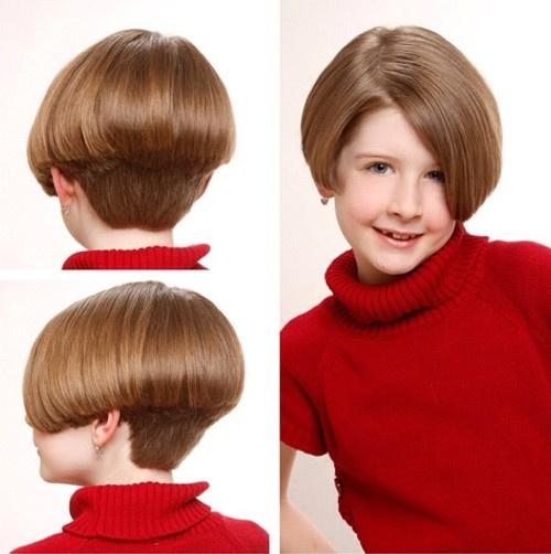 Bob Kesim Çoçuk Saç Modeli