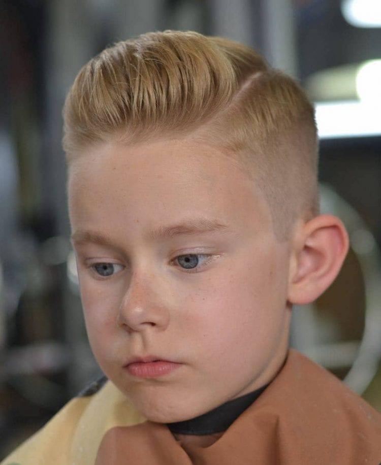 Erkek Çoçuk Kısa Saç Modeli