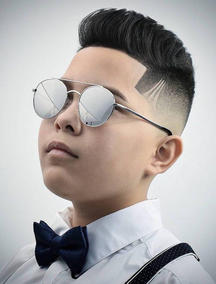 Üstü Fırçalanmış Saç Modeli