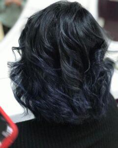 dalgali siyah saç