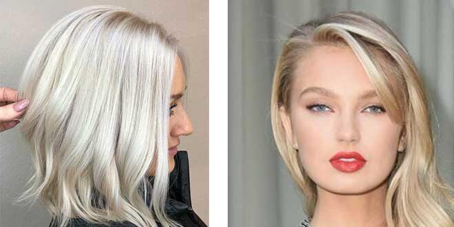 Platin Sarısı Saç Modelleri Nelerdir
