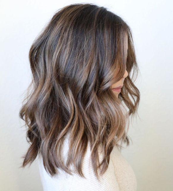 Ballı Kahverengi Saç Modeli
